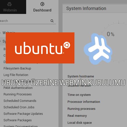 Ubuntu üzerine webmin kurulumu